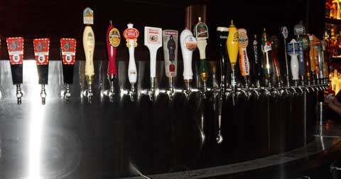 BJ's Tap Selection