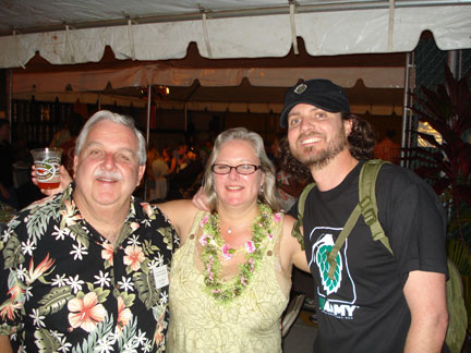 Fred Beth and J at Kona