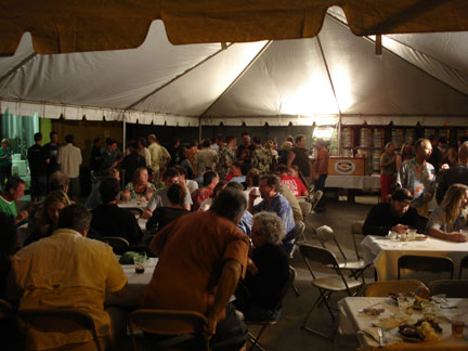 Brewers Tent at Kona